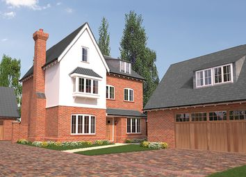 Thumbnail 5 bed detached house for sale in The Berwick, Belsteads Farm Lane, Little Waltham, Chelmsford, Essex