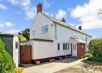 Thumbnail 3 bed semi-detached house for sale in St. Swithins Crescent, Bouldnor, Yarmouth, Isle Of Wight