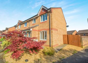 Thumbnail 3 bed end terrace house for sale in Cae Nant Gledyr, Caerphilly