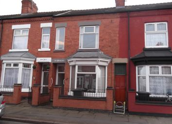 Thumbnail 1 bed terraced house to rent in Lancashire Street, Leicester