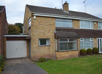 Thumbnail 3 bed semi-detached house for sale in Netherstowe Lane, Off Eastern Avenue, Lichfield, Staffordshire