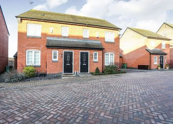 Thumbnail 3 bed semi-detached house for sale in Mill Field Avenue, Countesthorpe, Leicester