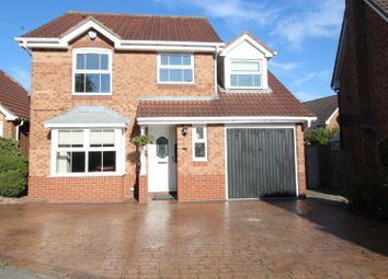Thumbnail 4 bedroom detached house for sale in Meadowgate Croft, Lofthouse, Wakefield