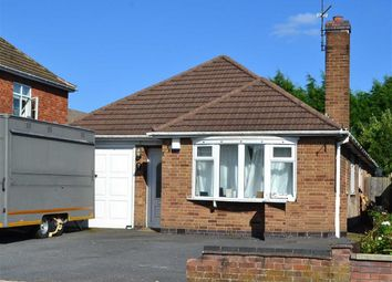 Thumbnail 3 bed detached bungalow for sale in Victor Road, Glenfield, Leicester