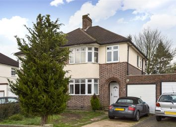 Thumbnail 3 bedroom semi-detached house for sale in Cranleigh Gardens, Grange Park