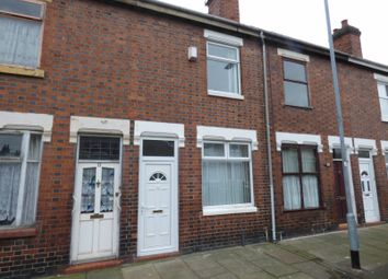 Thumbnail 2 bed terraced house to rent in Nicholls Street, Stoke-On-Trent