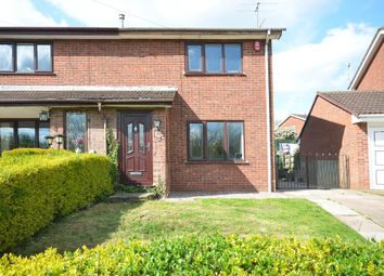 Thumbnail 2 bed semi-detached house for sale in Monsal Grove, Birches Head, Stoke-On-Trent