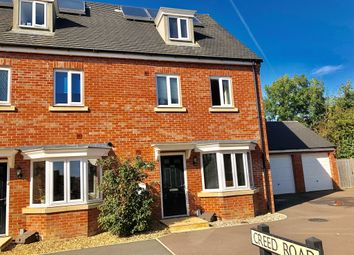 Thumbnail 4 bedroom end terrace house for sale in Creed Road, Oundle, Peterborough