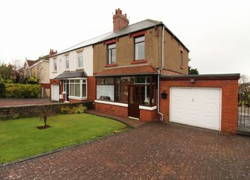 Thumbnail 3 bedroom semi-detached house for sale in High West Road, Crook