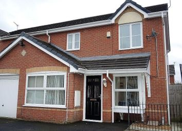Thumbnail 3 bed semi-detached house for sale in Heydon Close, Halewood, Liverpool