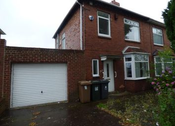 Thumbnail 3 bed semi-detached house for sale in Regent Terrace, Billy Mill Avenue, North Shields, Tyne And Wear
