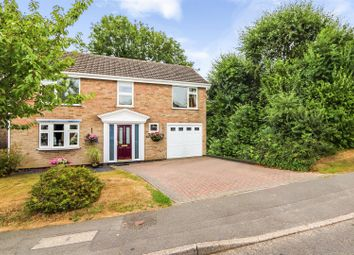 Thumbnail 4 bed detached house for sale in Marlborough Way, Ashby-De-La-Zouch