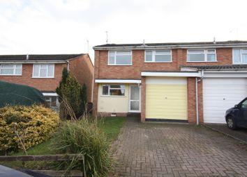Thumbnail 3 bed property to rent in Kirton Close, Whitnash, Leamington Spa