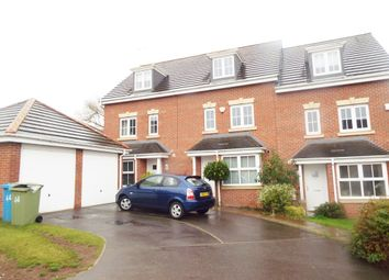 Thumbnail 4 bed town house to rent in Samian Close, Worksop, Nottinghamshire