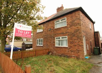 Thumbnail 2 bedroom semi-detached house to rent in Wheatley Terrace, Wheatley Hill, Durham