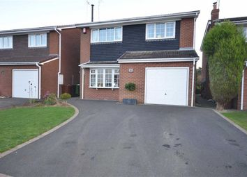 Thumbnail 3 bed detached house for sale in Cherry Close, Fulford, Stoke-On-Trent