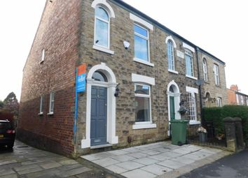 Thumbnail 3 bed end terrace house to rent in Compstall Road, Marple Bridge, Stockport