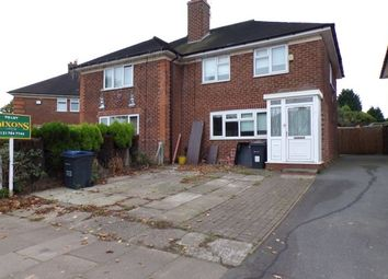 Thumbnail 3 bedroom property to rent in Broadstone Road, Kitts Green, Birmingham