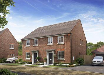 "Thumbnail 2 bed semi-detached house for sale in ""Kedlestone"" at Barnett Road, Steventon, Abingdon"