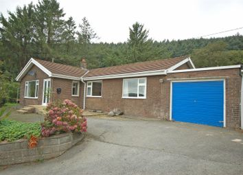 Thumbnail 3 bed detached bungalow for sale in Llanafan, Aberystwyth