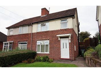 Thumbnail 3 bed semi-detached house for sale in Trinder Road, Bearwood, Smethwick