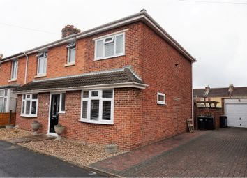 Thumbnail 4 bed semi-detached house for sale in Exmouth Road, Gosport