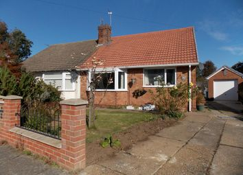 Thumbnail 2 bed semi-detached bungalow for sale in The Oval, Grimsby