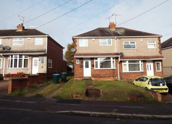 Thumbnail 3 bed semi-detached house for sale in Edward Road, Keresley, Coventry, West Midlands