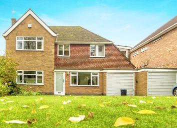Thumbnail 4 bed detached house for sale in The Fairway, Oadby, Leicestershire