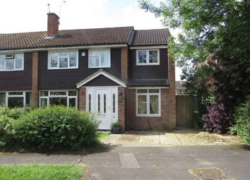 Thumbnail 4 bedroom semi-detached house for sale in Pine Road, Romsey