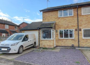 Thumbnail 2 bed semi-detached house for sale in Richardson Close, Broughton Astley, Leicester
