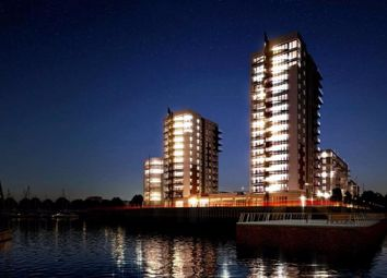 Thumbnail 1 bed flat for sale in Peninsula Quay, Victory Pier, Gillingham