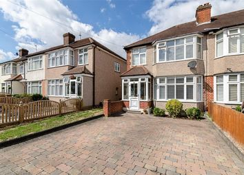 Thumbnail 3 bed semi-detached house for sale in St. Margarets Avenue, Cheam, Surrey