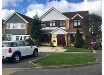 Thumbnail 4 bed detached house for sale in Burne Avenue, Wickford