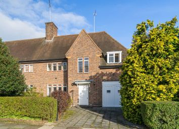Thumbnail 5 bed semi-detached house for sale in Southway, Hampstead Garden Suburb