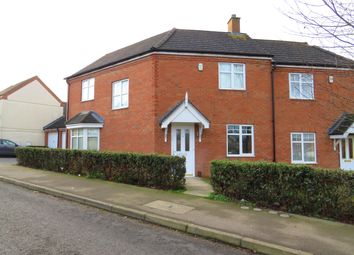 Thumbnail 3 bedroom property to rent in Boughton Road, Corby