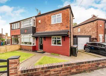 Thumbnail 3 bed semi-detached house for sale in Somerford Road, Reddish, Stockport, Cheshire
