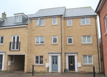 Thumbnail 4 bed terraced house to rent in Hutley Drive, Colchester