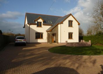 Thumbnail 4 bedroom detached house for sale in The Hawthorns, Panteg, Manorowen, Fishguard