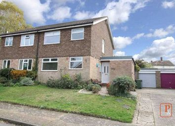Thumbnail 3 bed semi-detached house for sale in Weyland Road, Witnesham, Ipswich