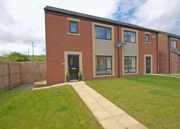 Thumbnail 3 bed semi-detached house for sale in Merlay Court, Killingworth, Newcastle Upon Tyne