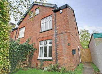 Thumbnail 4 bed semi-detached house to rent in Abbey Road, Chertsey, Surrey