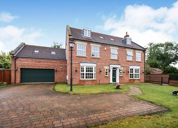 Thumbnail 5 bed detached house for sale in The Village, Earswick, York