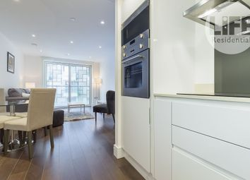 Thumbnail 1 bed flat to rent in Talisman Tower, 6 Lincoln Plaza, London