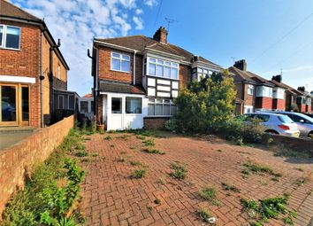 Thumbnail 3 bed semi-detached house for sale in Wilfred Road, Ramsgate, Kent
