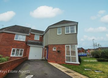 Thumbnail 3 bed town house for sale in Cross Street, Weston Coyney, Stoke-On-Trent