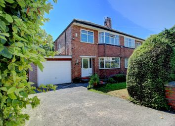 Thumbnail 3 bedroom semi-detached house for sale in Wilmslow Road, Didsbury, Manchester