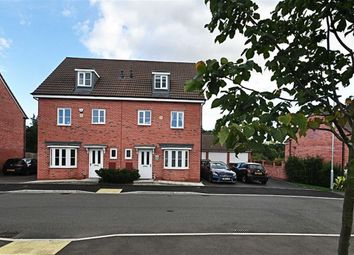 Thumbnail 4 bed town house for sale in Sentinel Close, Worcester