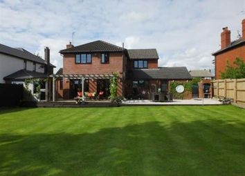 Thumbnail 4 bed detached house for sale in Fox Lane, Leyland