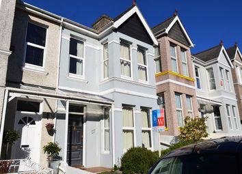 Thumbnail 3 bed terraced house to rent in Ganna Park Road, Plymouth